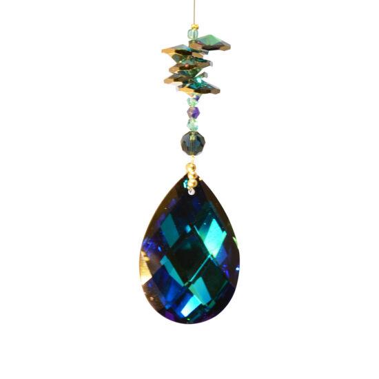 Ablakdísz - sötét kék mandula